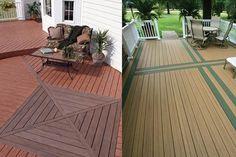 Kontiki -Composite Interlocking Deck Tile - Grey easy way to put a ...