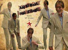 Watch Aaj Ki Raat Hai Zindagi with Sr. Bachchan starts 18th Oct on StarPlus- India