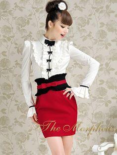 Morpheus Boutique  - Red Designer Bow Lady Celebrity Trendy Skirt, $79.99 (http://www.morpheusboutique.com/products/red-designer-bow-lady-celebrity-trendy-skirt.html/)