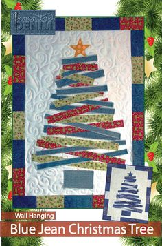 PDF DOWNLOAD- Jean Christmas Tree Wall Hanging