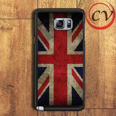 American Flag Teksture Samsung Galaxy Note 6 Case