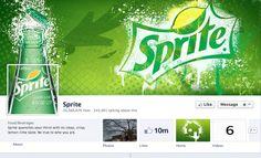 Sprite facebook cover #Spritefacebookcover