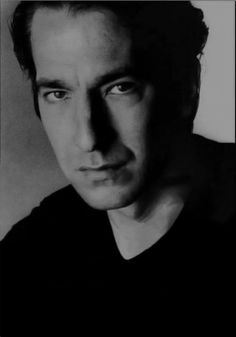 Alan Rickman, I'm in love <3