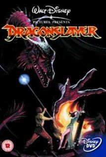 Dragonslayer - this movie was a trip for a little kid in the 80's.  I watched this over and over and over.  I love dragons to this day and probably because I watched this movie so much when I was a kid.