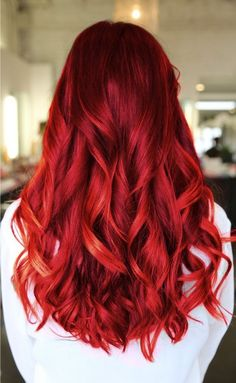 cheveux coloration rouge #cheveux #coloration #hair