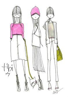 ilustraciones lindo Tibi