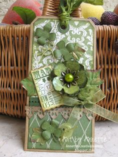 St.Patrick Tag...By:Annette's Creative Journey