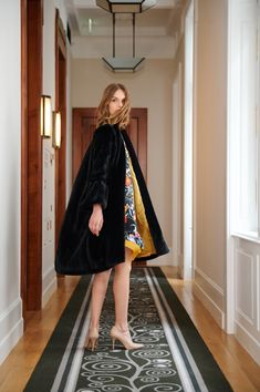 Long Winter, Fall Winter, Big Bows, Winter Collection, Colorful Flowers, Coats For Women, Winter Outfits, Ss, Cashmere