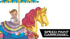 Speed Paint - Carrossel
