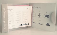Paper Airplane Messages on Behance