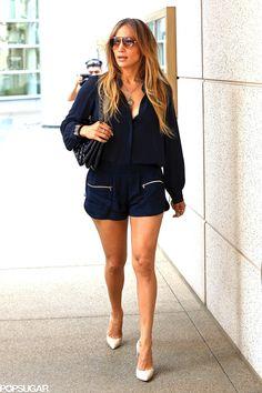 8988eaee585 Jennifer Lopez showed off her legs in LA. J Lopez