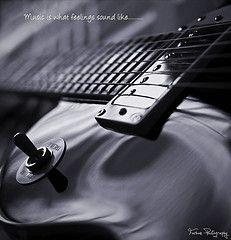 Music is what feelings sound like...