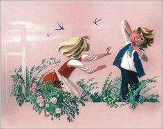 Русская художница-иллюстратор Ника Гольц / Nika Goltz - «Снежная королева», 2004 год.