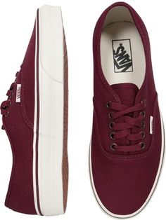 Maroon vans...I would love to have these