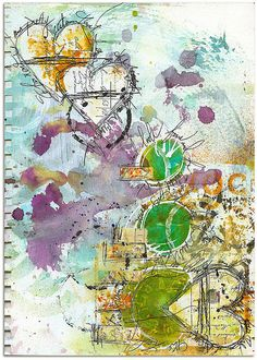SO FOR NOW art journal page by Roben-Marie Smith, via Flickr