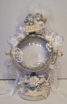 annes papercreations: Romantic steampunk altered frame with WOC beautifu...