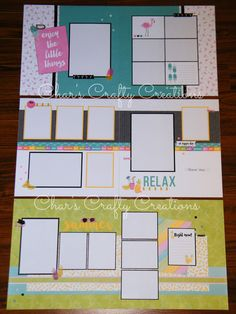 CTMH Calypso Workshop Your Way kit by Char's Crafty Creations - Char's Way!