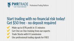 $50 No Deposit Bonus – PWRTRADE - http://www.profitf.com/binary-options-no-deposit-bonus/50-no-deposit-bonus-pwrtrade/