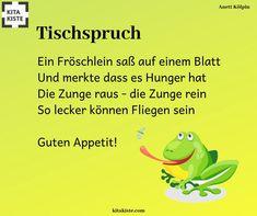 Tischspruch / Reime zum Thema #tiere #frosch #fliegen - #fliegen #frosch #Reime #Thema #tiere #Tischspruch #zum