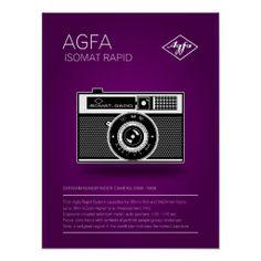 Agfa Isomat Rapid Posters