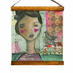 Kelly Rae Roberts Collection - Journey of Heart Wall Hanging
