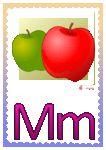 Litera M Apple, Full Bed Loft, Apple Fruit, Apples
