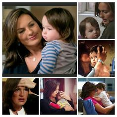 Law and order svu olivia benson and baby noah