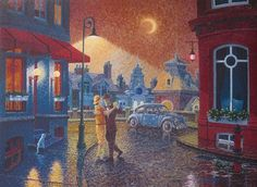 Denis Nolet, 1964 | Romantic painter | Tutt'Art@