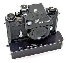 Nikon F Motor Drive System Nikon Camera Lenses, Digital Camera Lens, Camera Gear, Film Camera, Nikon Cameras, Old Cameras, Vintage Cameras, Classic Camera, Tecno