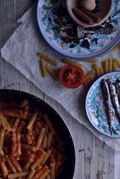 Pasta alla Paolina - Ricetta Siciliana