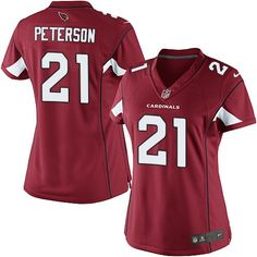 Nike Limited Patrick Peterson Red Women's Jersey - Arizona Cardinals #21 NFL Home