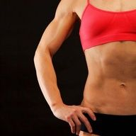 5 upper body and core exercises- I like this kind of ab work- when you work your abs by sucking them in you get a flat tummy and small waist. When you work them by crunches and other more intensive pilates moves you get a flat tummy but thicker, more rectangular waist.