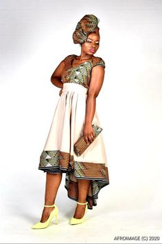 South Africa's home of modern African print fashion. African Print Dresses, African Print Fashion, Fashion Prints, Brown Summer Dresses, South African Traditional Dresses, Dress Websites, Flowing Dresses, Infinity Dress, Types Of Dresses