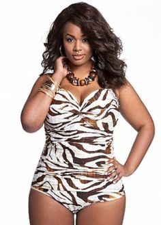 Pinner said: My Favorite Plus Size Swimwear...Right Now! I need the suit, I will be Gone With The Wind Fabulous!