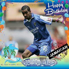 Happy Birthday Richard Langley!!! English born-Jamaican footballer!!! Today we celebrate you!!! @Langers1979 #RichardLangley #islandpeeps #islandpeepsbirthdays #futbol #soccer #Jamaica