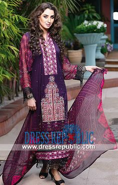 Ajwa Textile Summer Lawn Suit Designs 2014  Buy Online Ajwa Textile Summer Lawn Suit Designs 2014 (Volume 1) in Bakersfield, California, USA. Call Los Angeles (424) 248 5789. by www.dressrepublic.com