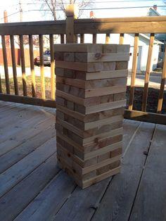 Tumbling Timbers Handmade from Cedar 2x4 Wood by TumblingTimbers
