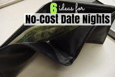 No Cost Date Night Ideas
