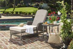 Oh la la! This is poolside perfection defined!  #PaulaDeenHomeOutdoor #BySunVilla #SimplyRefined #linkinbio👉💻
