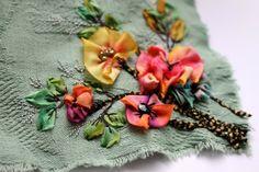 Avec très peu ...on fait des fleurs en volume... ••••► Shop