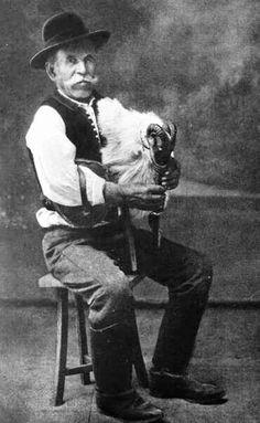 Öreg alföldi dudás, 1910