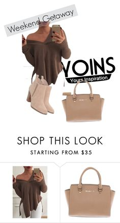 """""""Yoins"""" by sadeta-v ❤ liked on Polyvore featuring Michael Kors, yoins and loveyoins"""