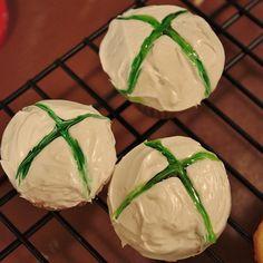 Xbox Cupcakes - decoration method