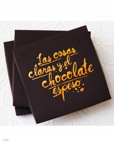 Artisan Chocolate  L&F Client Christmas Gift 2013. #chocolate #typography #packaging