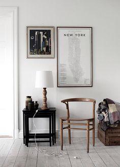 NYC map illustration