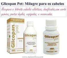 Glicopan Pet é um verdadeiro milagre para os cabelos. Aprenda como usar para recuperar cabelos com corte químico, elástico, com pontas duplas e ressecados. Saiba como fazer uma super hidratação com esse produto fantástico.
