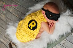 Inspired SuperHero Cape with Mask Newborn by YarningToBe on Etsy, $40.00