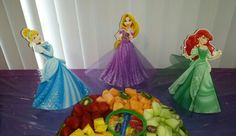 Disney Princess birthday party fruit salad