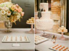 Romantic, ruffled Star Wars dessert table at Aria Minneapolis | Shauna Younge (pics: Melissa Oholendt)