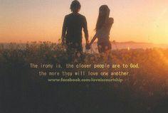 So true in my relationship :)